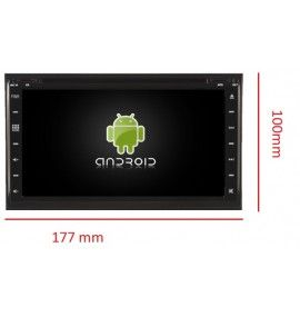 """Autoradio 6.95"""" GPS Android 6.1 Universel 2DIN Double DIN"""
