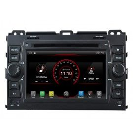 Autoradio ANDROID 6.1 GPS Bluetooth Toyota Land Cruiser / Prado 120 de 2002 à 2009