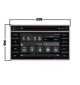 Autoradio ANDROID 6.1 GPS intégré Toyota Hilux