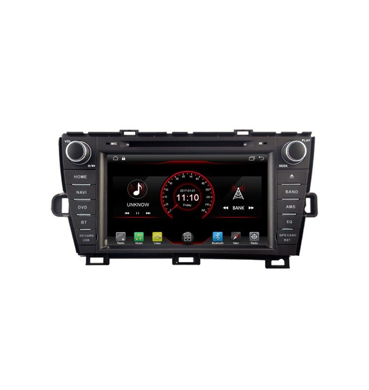 Autoradio ANDROID 6.1 bluetooth Multimedia Toyota Prius de 2009 à 2013