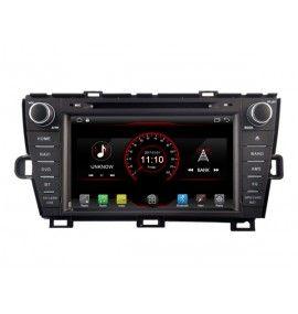 Autoradio ANDROID 6.1 bluetooth Multimedia Toyota Prius de 2009 à 2013