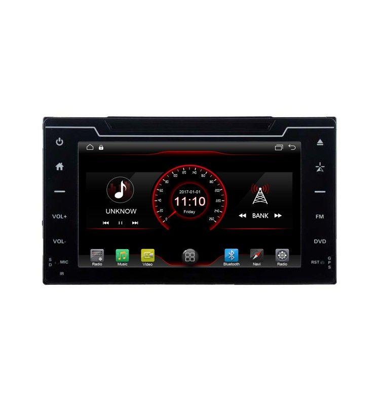 Autoradio Android 6.1 GPS Bluetooth intégré Toyota Auris depuis 2017 .