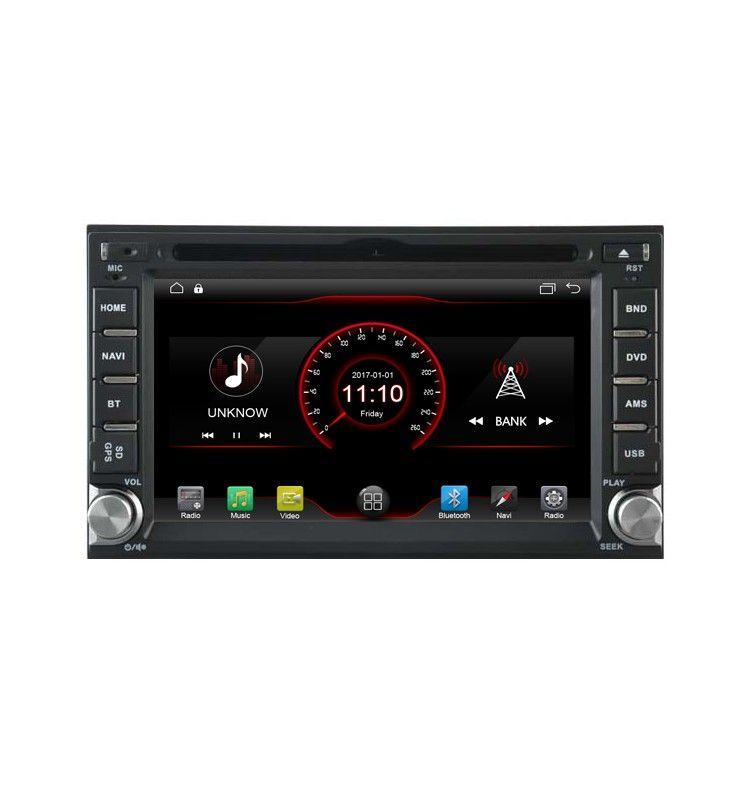"Autoradio 6.2"" GPS Android 6.1 Hyundai Sonata, Elantra, Terracan, Santa Fe, Tucson, Getz, Matrix"