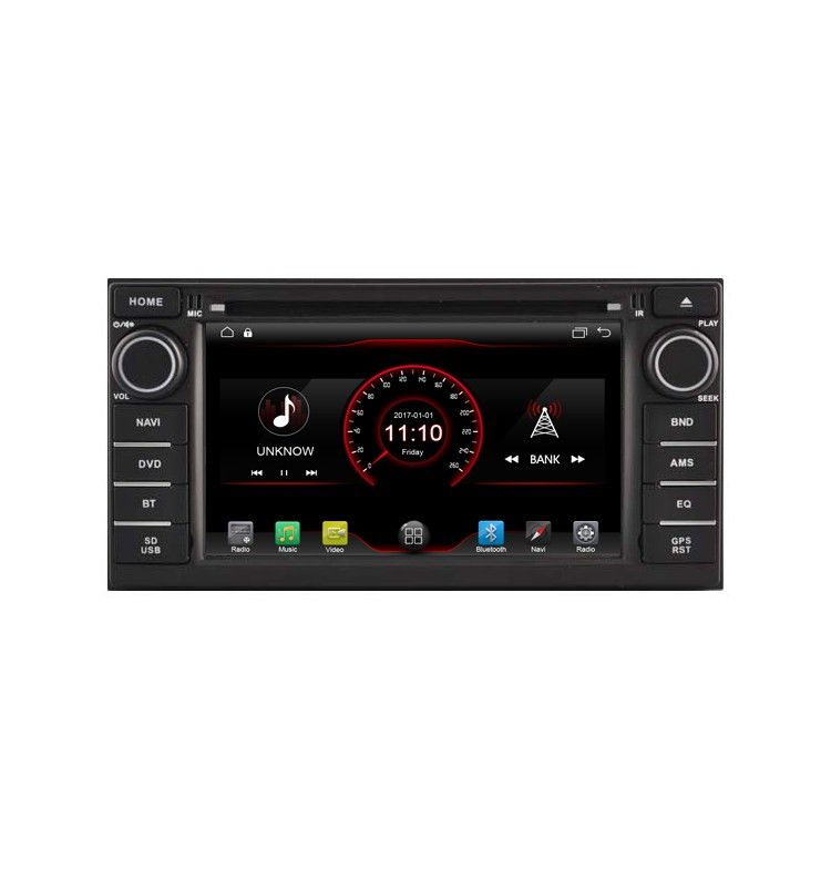 Autoradio GPS Android 6.1 Nissan Juke, Note, Pulsar depuis 2013