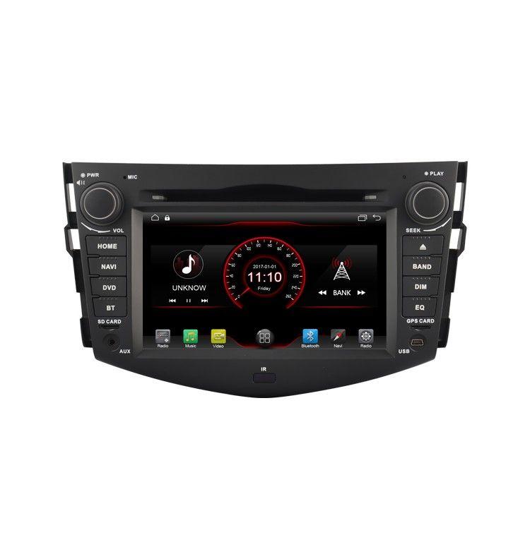 Autoradio Android GPS Bluetooth Multimédia intégré Toyota RAV4 de 2006 à 2012