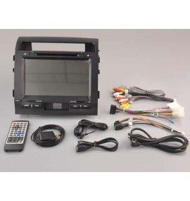 Autoradio S80 GPS Bluetooth Multimédia intégré Toyota Land Cruiser 200 de 2007 à 2013