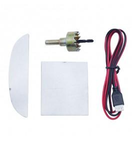 Radars de recul 4 capteurs couleur au choix