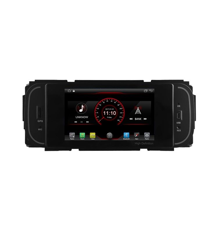 Autoradio GPS 8.1 Android Jeep Wrangler, Liberty, Grand Cherokee