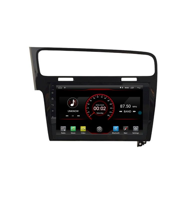 autoradio 10 2 n gps android 8 1 volkswagen golf 7. Black Bedroom Furniture Sets. Home Design Ideas