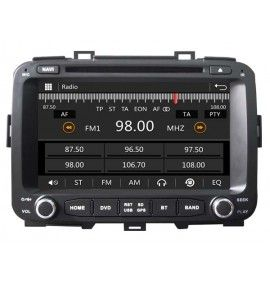 Autoradio GPS Bluetooth S80 Kia Carens depuis 2013