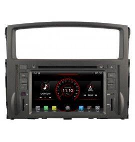 "Autoradio 7"" GPS Android 8.1 Multimédia intégré Mitsubishi Pajero et Montero 2006 à 2012"