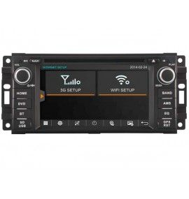 Autoradio S80 GPS Bluetooth Multimédia Jeep Grand Cherokee, Wrangler Et Dodge Journey