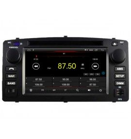 Autoradio Android 8.1 Navigation GPS, Bluetooth et MultiMedia Toyota Corolla