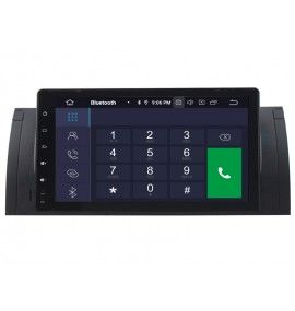 """Autoradio écran 9"""" GPS Android 9.0 BMW E39 série 5 et M5 - E53 X5"""