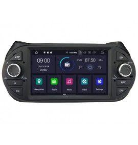 Autoradio Android 9.0 GPS, Bluetooth intégré Peugeot Bipper, Citroën Nemo et Fiat Fiorino