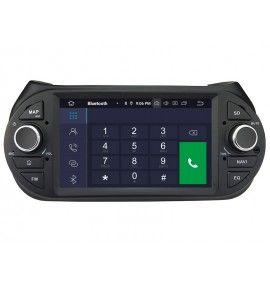 Autoradio Android 10 GPS, Bluetooth Peugeot Bipper, Citroen Nemo et Fiat Fiorino . - 2