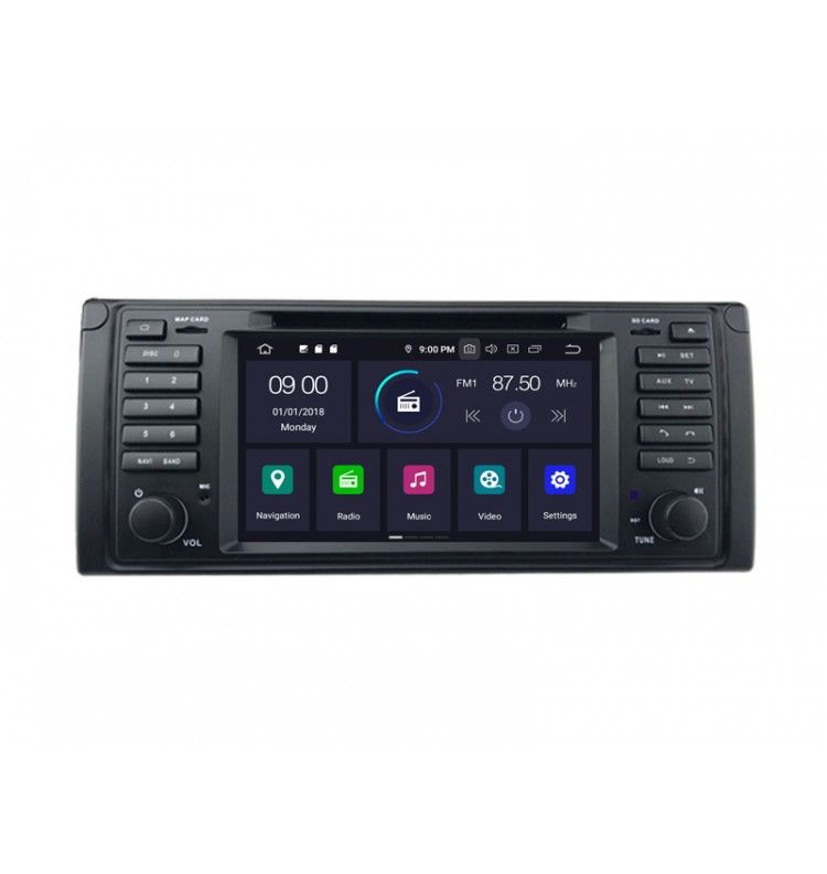 Autoradio GPS Android 9.0 BMW E39 série 5