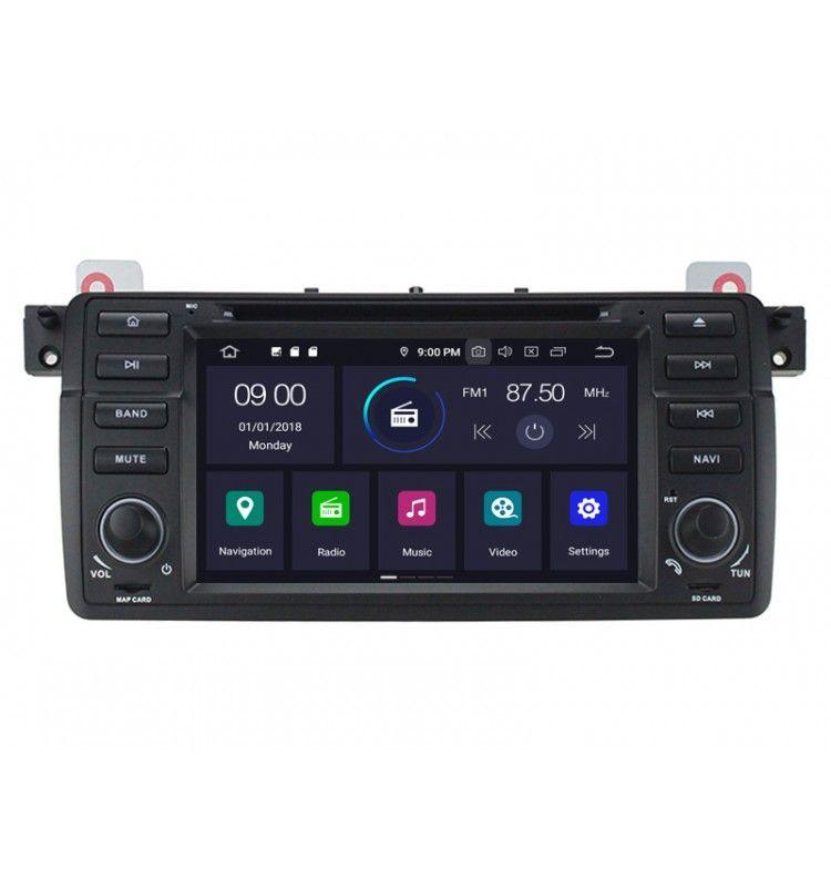 Autoradio GPS Android 9.0 BMW E46 Série 3 et M3