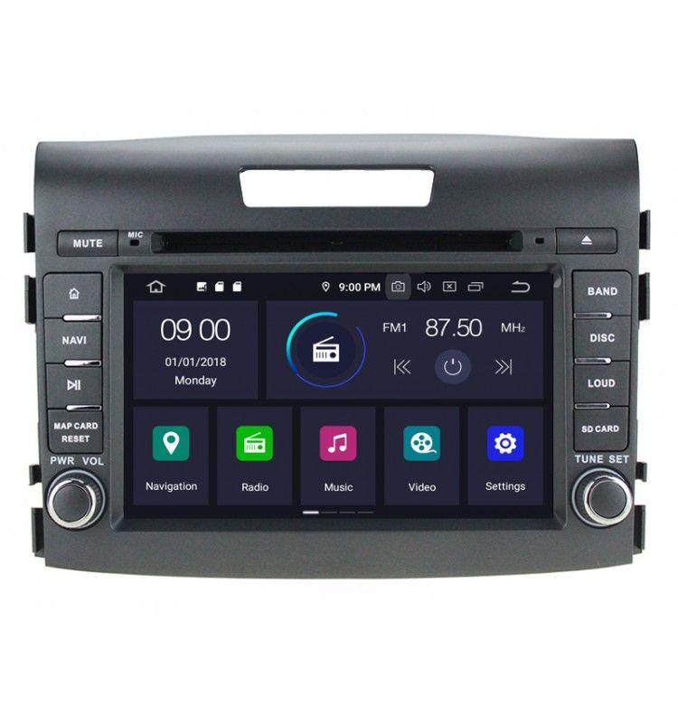 Autoradio GPS Android 9.0 Honda CR-V depuis 2012