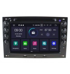 Autoradio GPS Android 9.0 Renault Megane 2 II