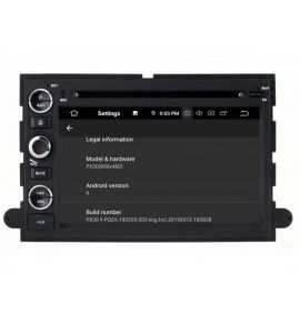 Autoradio GPS Android 9.0 Ford Mustang, Fusion, Explorer, F150, Focus, Edge