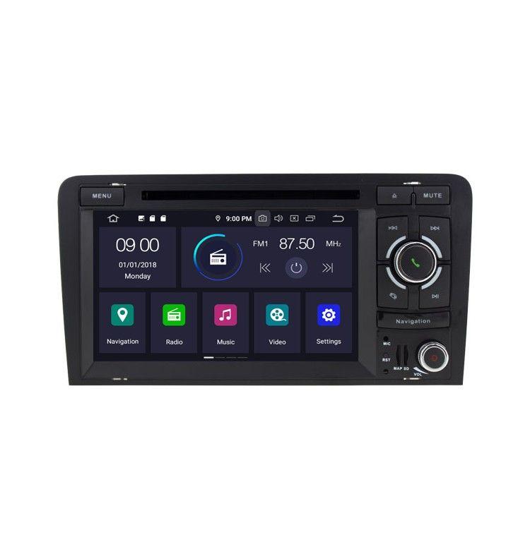 Autoradio GPS Android 9.0 Audi A3 S3 RS3 SPORTBACK