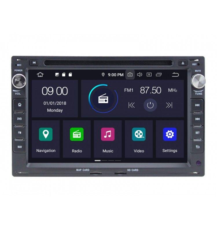 Autoradio GPS Android 9.0 Volkswagen Volkswagen Golf 4, Polo, Bora, Passat B5, Transporter T5, Sharan 2