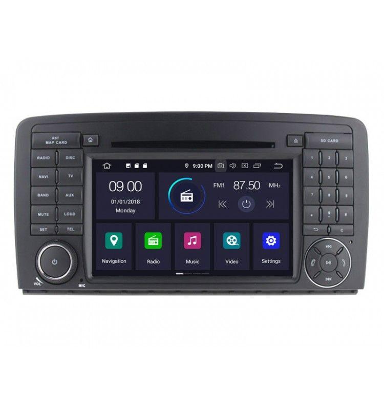 Autoradio GPS Android 9.0 Mercedes Benz Classe R W251 de 2006 à 2012