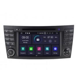 Autoradio GPS Bluetooth Android 10 Mercedes Classe E W211 et CLS W219 - 1