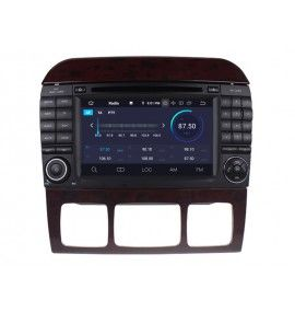Autoradio GPS Android 9.0 MERCEDES Benz Classe S W220 de 1998 à 2005