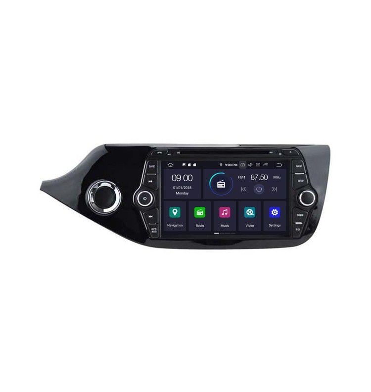 Autoradio GPS Android 9.0 Kia Cee'd depuis 2013