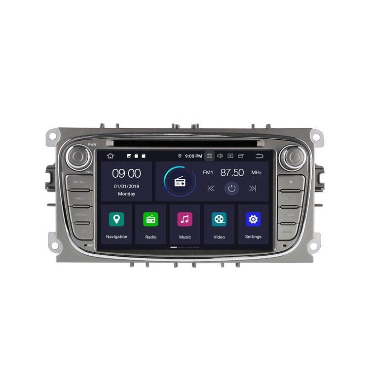 Autoradio GPS G Android 9.0 Ford Mondeo, Focus, S-Max, Galaxy