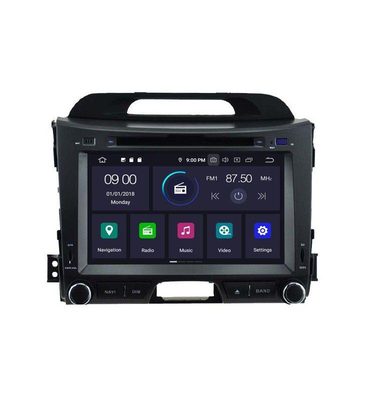 "Autoradio 8"" GPS Android 10 Android Kia Sportage de 2010 à 2016. - 1"