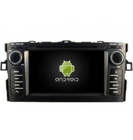 Autoradio GPS Android 10 Toyota Auris de 2008 à 2012 - 4