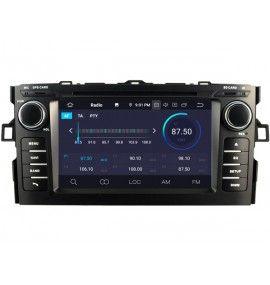 Autoradio GPS Android 10 Toyota Auris de 2008 à 2012 - 3