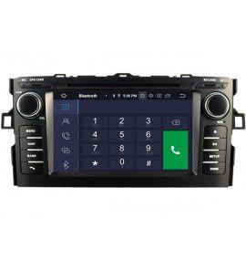 Autoradio GPS Android 10 Toyota Auris de 2008 à 2012 - 5