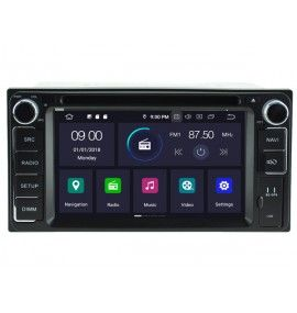 Autoradio GPS Android 9.0 Toyota Corolla, Verso, Hilux, RAV4, Land Cruiser 100