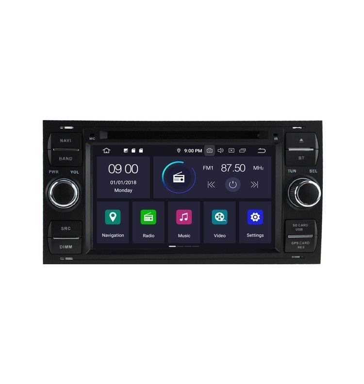 Autoradio N GPS Android 9.0 Ford Kuga, C-Max, S-Max, Fiesta, Focus, Fusion, Mondéo