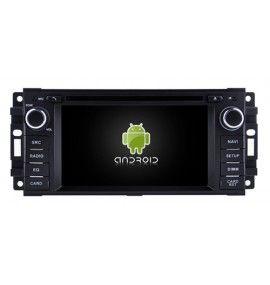 Autoradio GPS Android 9.0 Jeep Grand Cherokee, Wrangler Et Dodge Journey, Nitro