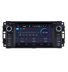 Autoradio GPS Android 9.0 intégré Dodge, RAM, Avenger, Caliber, Charger