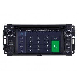 Autoradio GPS Android 9.0 Chrysler 300C, Sebring, PT Cruiser