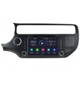 Autoradio GPS Android 10 Kia Rio à partir de 2015 - 1