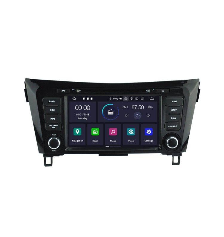 Autoradio GPS Android 9.0 Nissan Qashqai et X-Trail depuis 2014