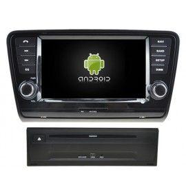 Autoradio GPS Android 10 Skoda Octavia depuis 2013 - 1