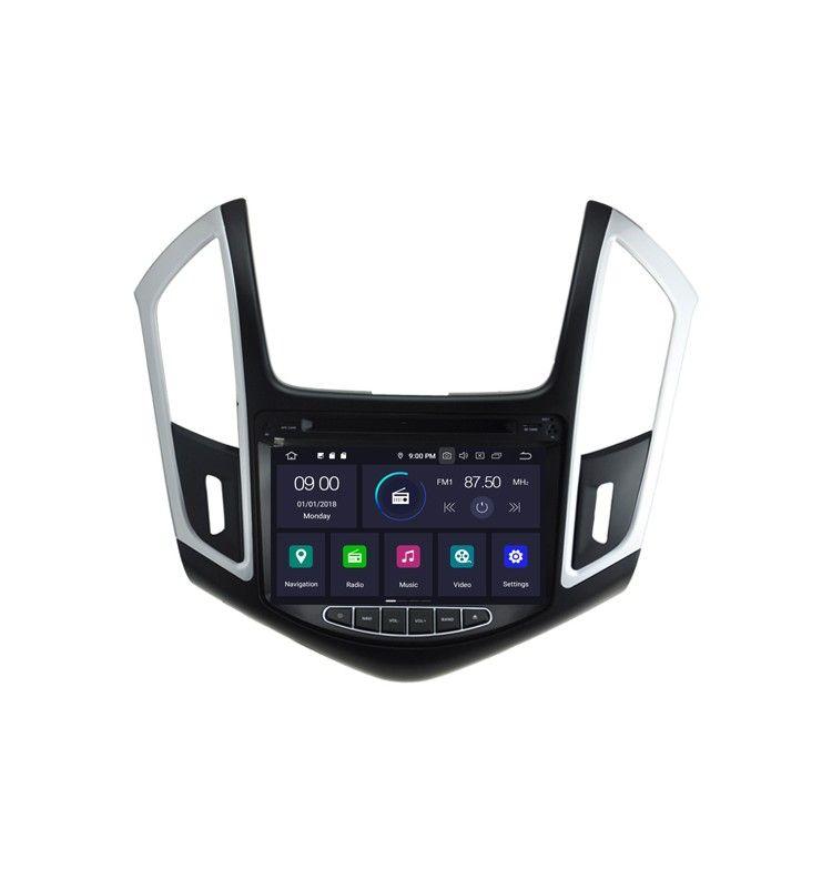 Autoradio GPS Android 9.0 intégré CHEVROLET Cruze de 2013 à 2015