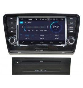Autoradio GPS Android 10 Skoda Octavia depuis 2013 - 4