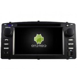 Autoradio Android 9.0 Navigation GPS, Bluetooth et MultiMedia Toyota Corolla