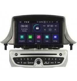 Autoradio GPS Android 9.0 Renault Megane 3 Gris