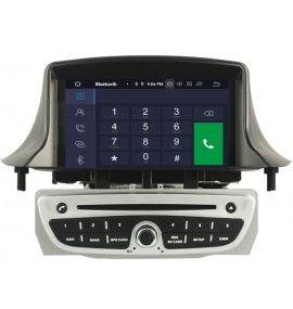 Autoradio GPS Android 10 Renault Megane 3 et Fluence Gris - 5