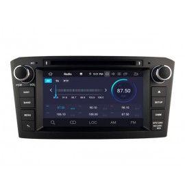 Autoradio GPS Android 9.0 Bluetooth Multimédia intégré Toyota Avensis de 2005 à 11/2008